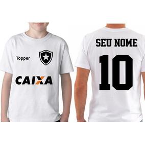 75828b378a Futebol Camiseta Botafogo Antiga Gg - Camisetas Manga Curta no ...