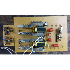 Projeto Inversor Onda Senoidal Pura 1000w 4000w Com Egs002