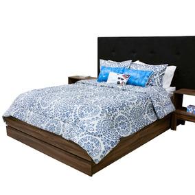 Edredones King Size Set 10 Pzs Azul Claro Envio Gratis