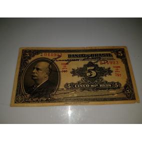 Cédula 5 Mil Réis R 195b
