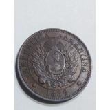 Moneda 2 Centavos 1889,argentina