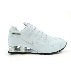 e2f95fab3a5 Tenis Nike Shox Feminino Original Rosa Para Masculino Branco