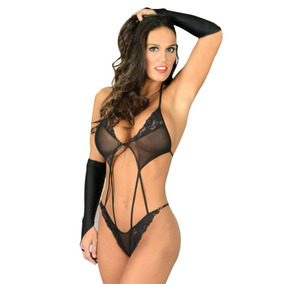Body Encaje Lenceria Erotica Ajustado Sexy Femenino 95ca394f2806