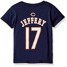 Nfl Niños 4 - 7 Alshon Jeffery Chicago Bears Principal Nombr e3c6368e34dc6