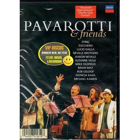 Dvd Pavarotti E Friends 1 E 2 Sting Lucio Dalla - Lacrado!!