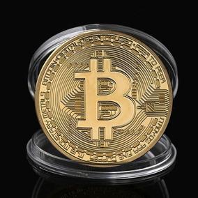 Moeda Física Bitcoin Para Colecionador - Pronta Entrega!
