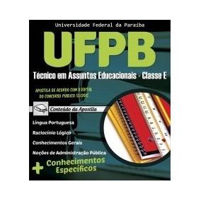 Apostila De Técnico Em Assuntos Educacionais - Ufpb!