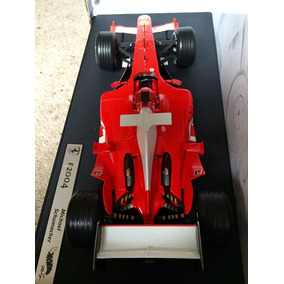 Ferrari F1-2004 Michael Schumacher.hot Wheels 1:18 E.l.