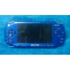 Psp 2001 Desbloqueado Azul + 2gb + Case + 3 Jogos Original