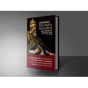 Grimório Papa Honorius - Impresso / Capa Dura / Colecionador