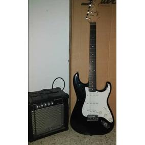 Guitarra Electrica Siquier Y Amplificador De 15w