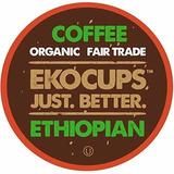 Ekocups Café Etíope Artesanal Ecológico Asado Medio En Va