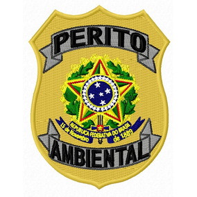 Brasão Da Polícia Militar Ambiental - Artigos de Armarinho no ... 9b80ba9cc82