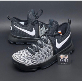 6b3cc9f15e2 Tênis Nike Zoom Kd 9 Flyknit -lebron Kobe Basquete Nba Kevin