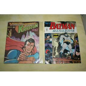 Superman O Fabuloso Mundo De Krypton Ano: 1982 Editora Ebal