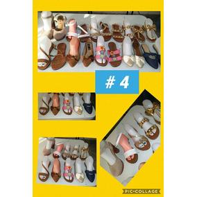 Lote ( 10 Pares ) Calzado Dama Varios Modelos (num 4)