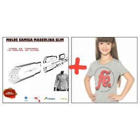 Molde Camisa Masc. P Ao Extg+camiseta Inf. 2 Ao 16 Correios