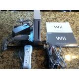 Wii Color Blanco Sin Chipear Full Accesrios Negociable