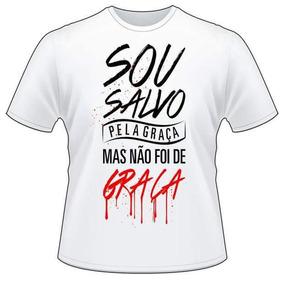 Camisa Sou Salvo Pela Graça