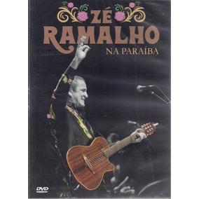 Dvd Zé Ramalho - Zé Ramalho Na Paraíba (2018) Lacrado
