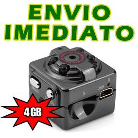 4cb273eb326 Relógio De Mesa Espião 4gb Com Detecção De Movimento Câmera ...