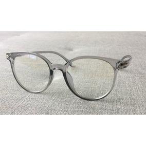 23f8ff0424bc3 Duas Armações Óculos Grau Acetato Unissex Transparente A15