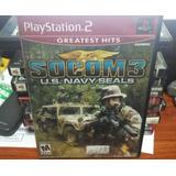 Socom 3-juego- Ps2