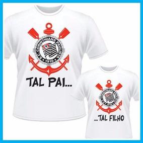 Camisetas Personalizadas Dia Dos Pais Corinthians - Calçados 04bc55a861afa