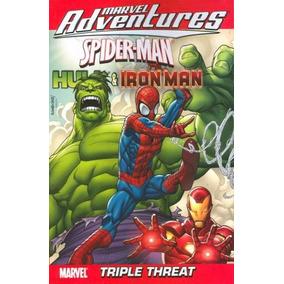Marvel Adventures Spider-man Hulk & Iron Man Tripe Threat 1