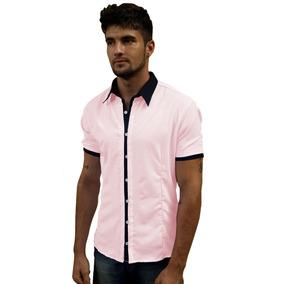 c6e22c11dc Moda Camisa Funk Social Manga Curta Masculino Polo - Camisas no ...