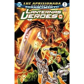 Hq Dc Lanternas Verdes Renascimento Edição 7