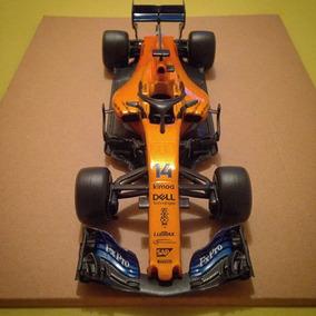 Miniatura Mclaren Fernando Alonso Mcl33 2018 Petrobras 1/24