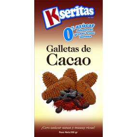 Galletas De Cacaco Sin Azúcar. Kseritas (24 Unidades)
