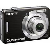 Cámara Sony Cybershot W55 - Batería Adicional - Memoria