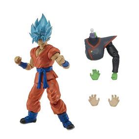 Boneco Dragon Ball Goku Saiyan Blue Dragon Stars Serie 4