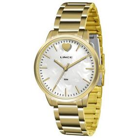 56172d0689f Relogio Feminino Lince Fundo Perolado Champion - Relógios De Pulso ...