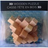 Puzzle 3d De Madera Rompecabezas 3 Dimensiones