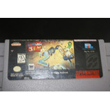 Juego Para Super Nintendo Earth Worm 2