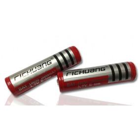 Bateria Recarregável 2600mah 3.7v Tática Richuang Original