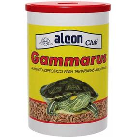 Kit 2 Potes Alcon Gammarus 110 G - Ração Tartaruga Camarã