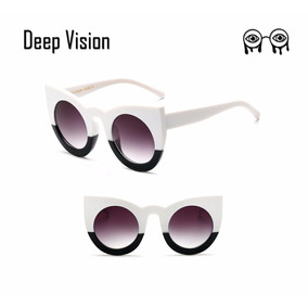 37038d5bc3d3a Oculos Olho De Gato Branco - Óculos no Mercado Livre Brasil