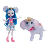 Boneca Enchantimals - 15 Cm - Ekaterina E Elefante - Mattel