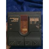 Pedal De Guitarra Zoom 504 Multi-effecto