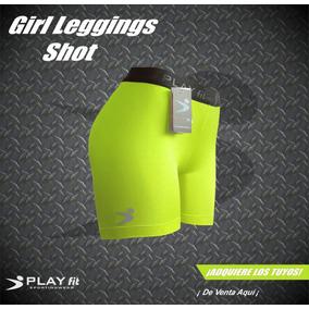 Leggings Mallon Licra Short Mujer Varios Colores Play Fit