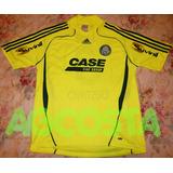 Camisa Palmeiras G De Jogo 2008 Verde Limão  3 Gustavo 191730b945bb8