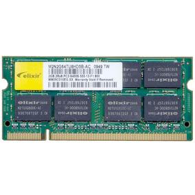 Memoria Notebook Ddr2 4gb 2 X 2gb 667mhz Pc2-6400