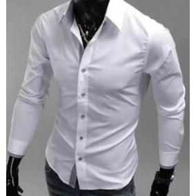 Camisa Social Masculina Da Fábrica Branca+preço Baixo*