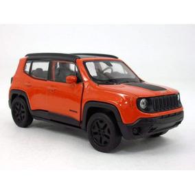 Carrinho Jeep Renegade Trailhaw Laranja - Ferro E Fricção