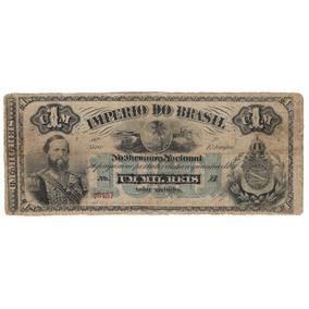 Cédula (nota) 1000 Réis Do Império - R014 Original