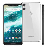 Celular Motorola Moto One 64gb 5.9 4gb 13mp+2mp - Branco